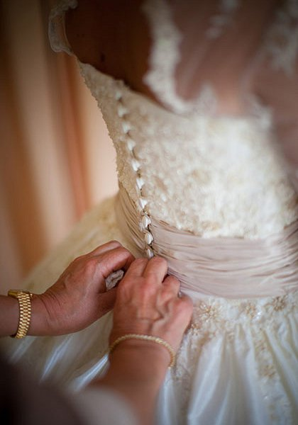 Bespoke wedding dress Cumbria