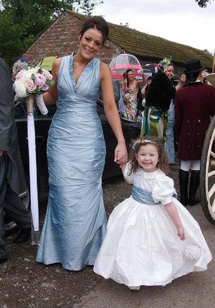 Bespoke Bridesmaid Dress